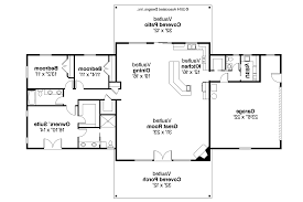 Ranch House Plans   Anacortes     Associated Designs    Ranch House Plan   Anacortes     Floor Plan