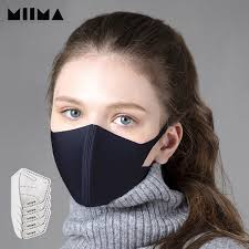 MIIMA <b>Mask Dust Proof Mask</b>(+<b>Replaceable</b> Filter 5pcs)