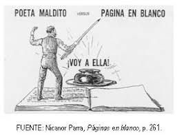 Resultado de imagen de NICANOR PARRA POESÍA VISUAL