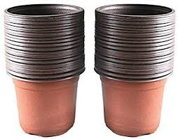 "Amazon.com: KINGLAKE <b>100 Pcs</b> 4"" <b>Plastic</b> Plants Nursery Pot/Pots ..."