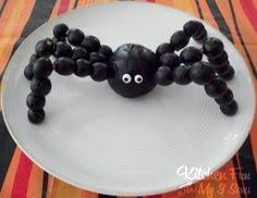 Image result for healthy halloween party treats