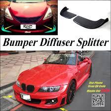 car splitter diffuser bumper canard lip for bmw z3 e36 e367 19952002 bmw z3 1996 side aa