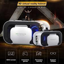 <b>VR SHINECON</b> Kacamata Virtual Reality 3D Ringan <b>5th Generations</b>