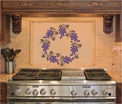 grapes grape themed kitchen rug: image of wine and grape kitchen decor uk