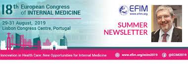 EFIM <b>Summer</b> Newsletter <b>2019</b> | European Federation of <b>Internal</b> ...