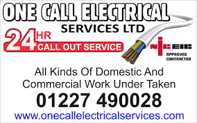 hour callout electricians hours response in kent advertisement board jpg