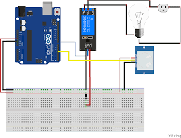 how to connect and use a relay module an arduino brainy bits schematic arduino and relay module