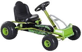 HOMCOM Kids Children <b>Pedal Go Kart</b> Ride on Car <b>Adjustable</b> Seat ...