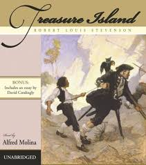 great audiobooks for families to listen to together working treasure island