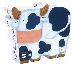<b>Пазл</b> DJECO <b>Коровы на ферме</b> (07205), 24 дет. — купить по ...