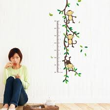 tree wall decor art youtube: cute animals wall stickers home art decor harga online indonesia