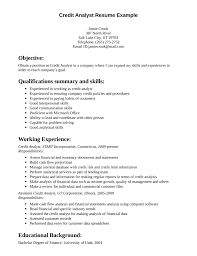 skill resume   professional credit analyst resume credit analyst    skill resume professional credit analyst resume credit analyst objective statement credit analyst resume sample