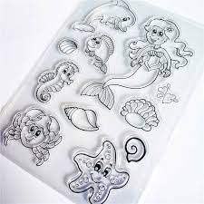PANFELOU <b>The zodiac</b> tools Transparent Clear <b>Silicone</b> Stamp ...