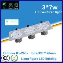7 Вт * 3 <b>светодиодный светильник</b>-решетка AC85-265V ...