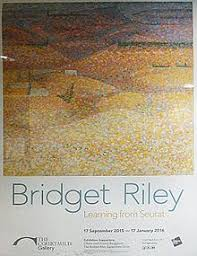 Bridget Riley   Wikipedia The Courtauld Gallery     s             exhibition  quot Bridget Riley  Learning from Seurat quot  showed how Riley     s style was influenced by George Seurat