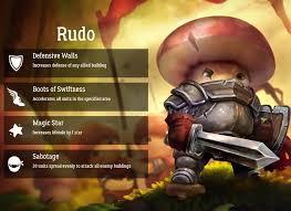 <b>Mushroom Wars 2</b> - Time for <b>Heroes</b>! RUDO Rudo is... | Facebook