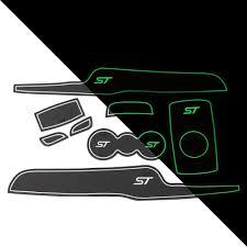 luminous gate slot mat car