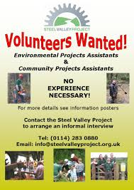 the steel valley project volunteer job description