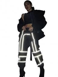 Reflective <b>Clothing</b> | <b>Reflective Tape Clothing</b> | Reflective Crop Top ...