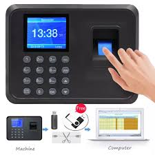 (<b>Free Shipping</b>) USB Report Fingerprint Time Attendance <b>Digital</b> ...