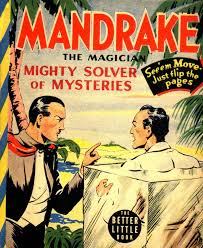 Image result for phantom comic, mandrake the magician comic