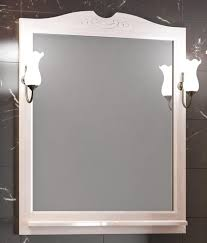 <b>Зеркало Opadiris Тибет 80</b> беленый бук в интернет-магазине ...