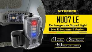<b>Nitecore NU07 LE</b> - 5 Color, 11 Function USB-C Rechargeable ...