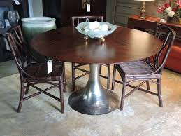 wrapped bamboo mcguire dining table base