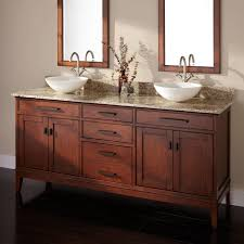 roth desert gold granite undermount double sink  madison double vessel sink vanity tobacco bathroom youll find suffici