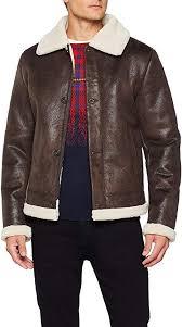 <b>Trussardi Jeans Men's</b> Jacket Regular Fit Eco Shearling - small ...