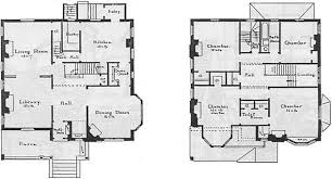 House plans for Walter G  Davis  at Portland  Maine  by John        by the  quot don    t care quot  use of materials  we are yet not averse to an occasional exhibition of such careful  immaculate neatness as this house presents