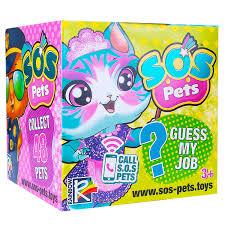 Игрушка Rainbow <b>Фигурка</b>-<b>сюрприз S.O.S Pets</b> Милые зверята ...