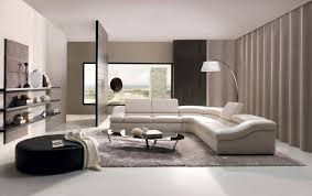 ideas living room furniture simple modern: comfortable modern sofa with soft leather and simple pillows also nice
