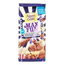 <b>Шоколад молочный</b> МаксФан со вкусом колы, попкорна и ...