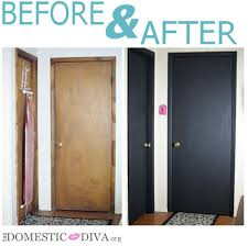 paint an interior door with chalkboard paint for a home office bathroom homeschool room chalkboard paint office