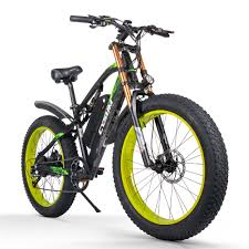 Cysum M900 Electric Bike Bicycle 48V 17AH 1000W 26in Fat Tire ...