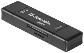 Купить <b>Кардридер Defender Multi Stick</b> USB2.0 Type A/B/C - SD/TF ...