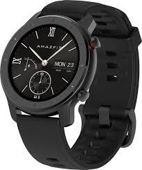 Купить смарт-часы Amazfit <b>GTR 42mm</b>, <b>черный</b> ремешок по ...