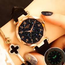 <b>Luxury Starry Sky Watch</b> For Women Fashion Ladies Quartz ...
