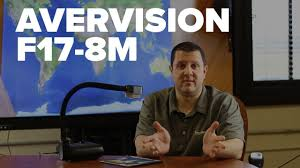 <b>AverVision F17</b>-<b>8M</b> Portable Flexarm Document Camera - YouTube