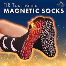 FIR <b>Tourmaline Magnetic Socks Self</b>-<b>Heating Magnetic</b> Therapy ...