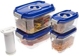"<b>Набор вакуумных контейнеров</b> ""<b>Status</b>"", цвет: прозрачный, синий ..."