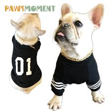 2018 <b>Spring Dog Clothes For</b> Small Dogs French Bulldog Coat ...