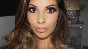 makeup tutorial for brown eyes brown smokey eyes