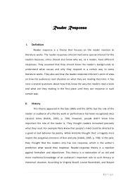 makalah reader response