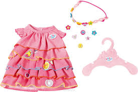 <b>Zapf Creation Платье</b> и ободок-украшение для куклы BABY born ...