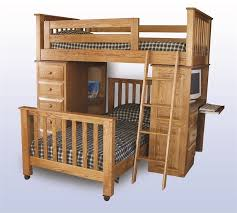 amish bunk beds desk bed and desk combo furniture