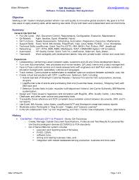 sample resume for game testing entry level qa software tester resume sample monster sample resume tester resume sr advance tester automation
