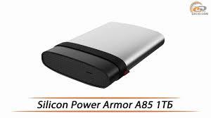 <b>Silicon Power</b> Armor A85 - обзор внешнего <b>жесткого диска</b> на 1 ТБ ...