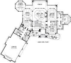 House Plan The Jasper Hill by Donald A  Gardner ArchitectsFloor Plans